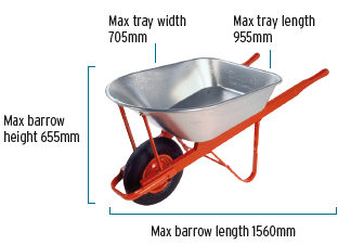 Wheelbarrow external view