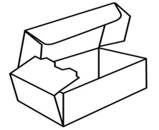 Corrugated Packaging Roll End Tuck Top