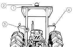 Tractor Safety anterior view