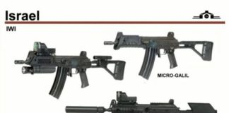 Israel different types of guns