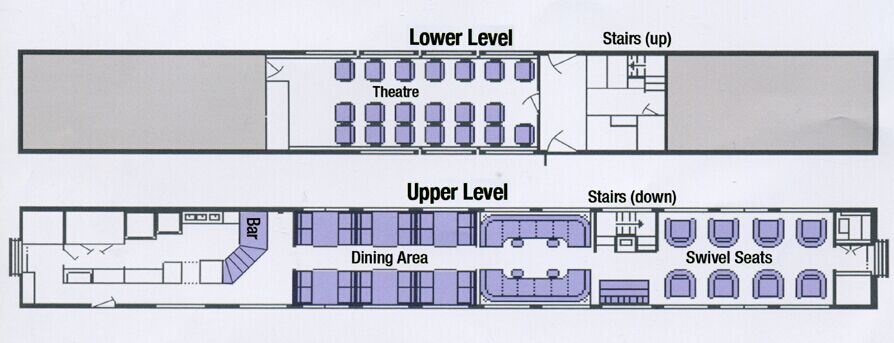 Amtrak diagram heritage pacific parlor car