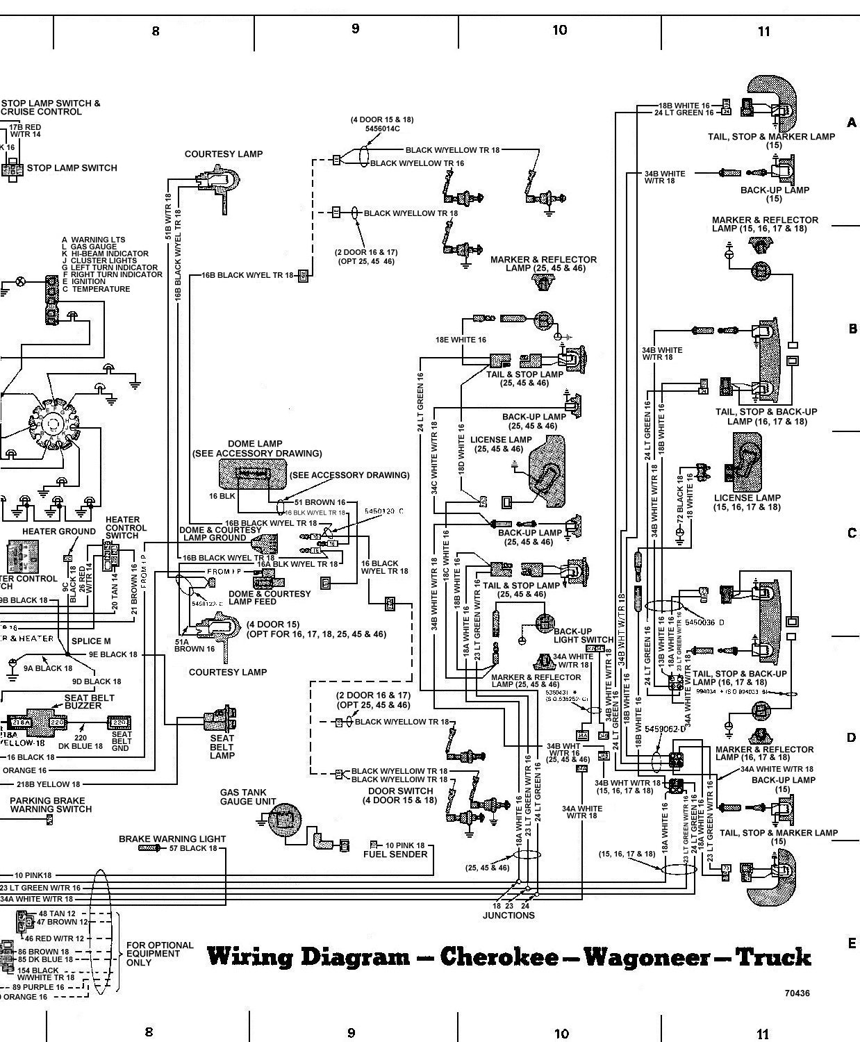 Wire Diagram 86 Jeep Xj - Wiring Diagram Directory on 86 mustang wiring diagram, 86 chevy wiring diagram, 86 corvette wiring diagram, 86 bronco wiring diagram, 86 camaro wiring diagram, 86 ford wiring diagram,