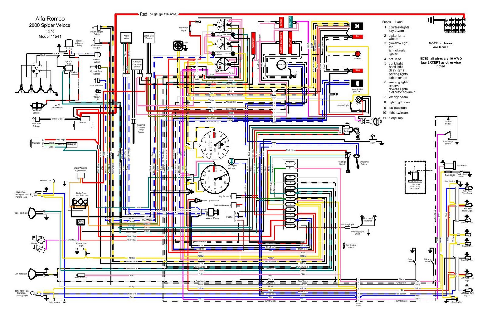 spider alfa romeo nord engine diagram wiring diagrams back Dodge D150 Wiring Diagram