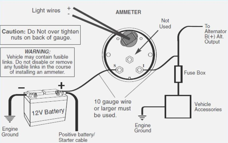 Car Wiring Diagram Ammeter