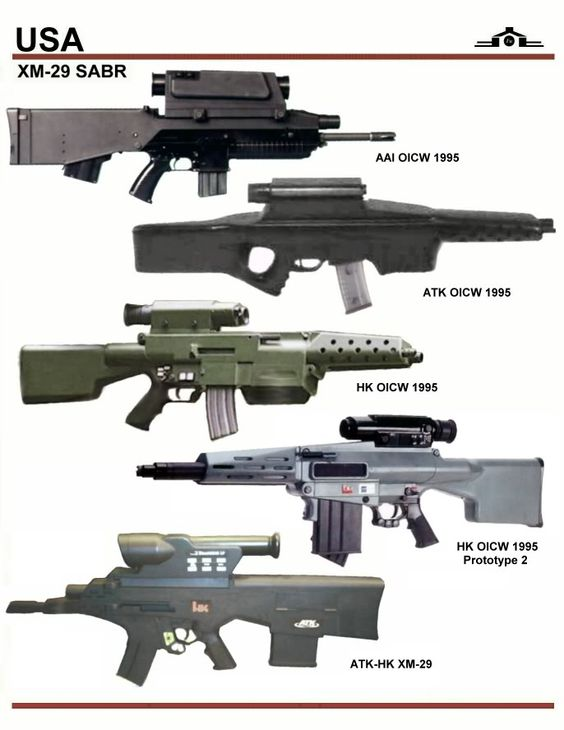 Usa Xm-29 Sabr Guns Types
