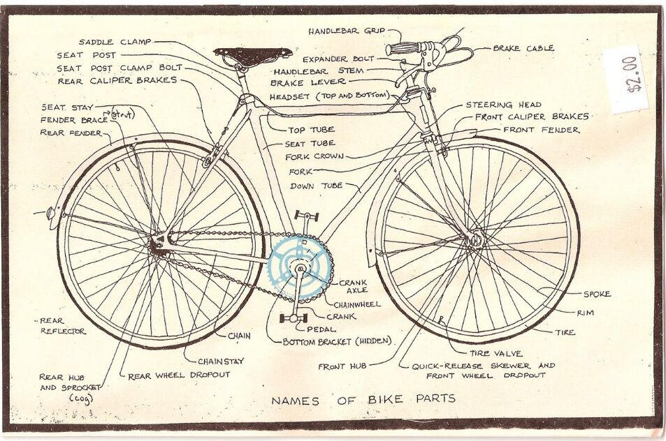 Bicycle Anatomy Detail Information