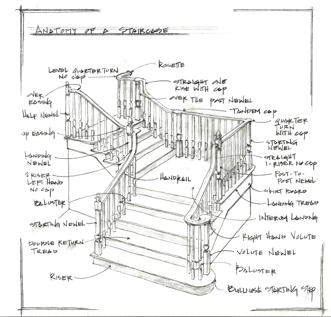 Staircase Anatomy In Detail