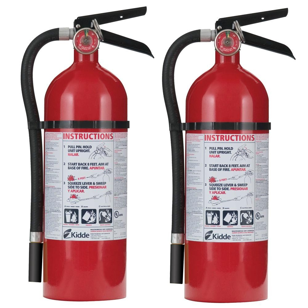 Fire Extinguisher External View