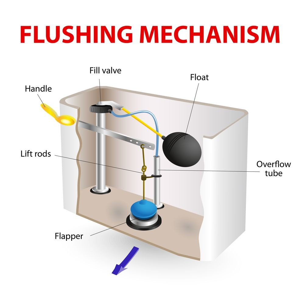 Flushing Mechanism Diagram
