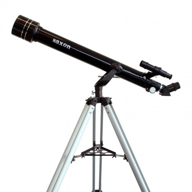 Refractor Telescope External View Diagram