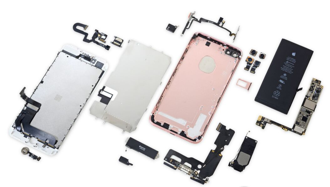 Iphone 5 Spare Parts Structure