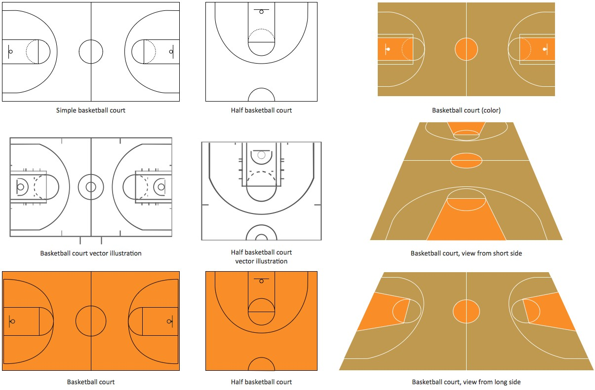 Basketball Playground Diagram