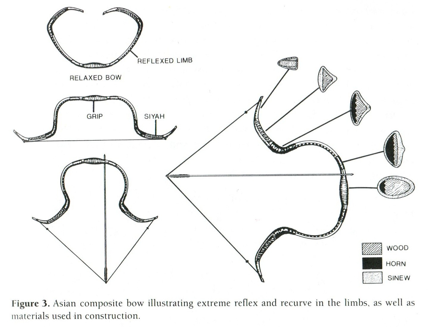 Construction Materials Of Asian Bow