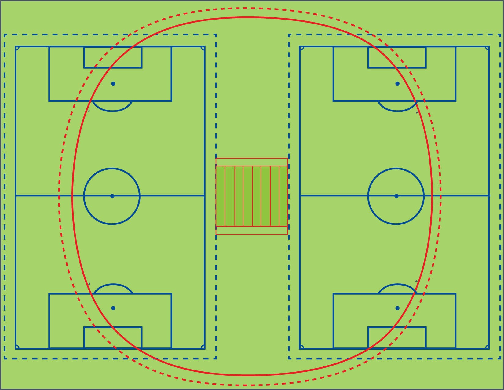 Cricket Field Diagram