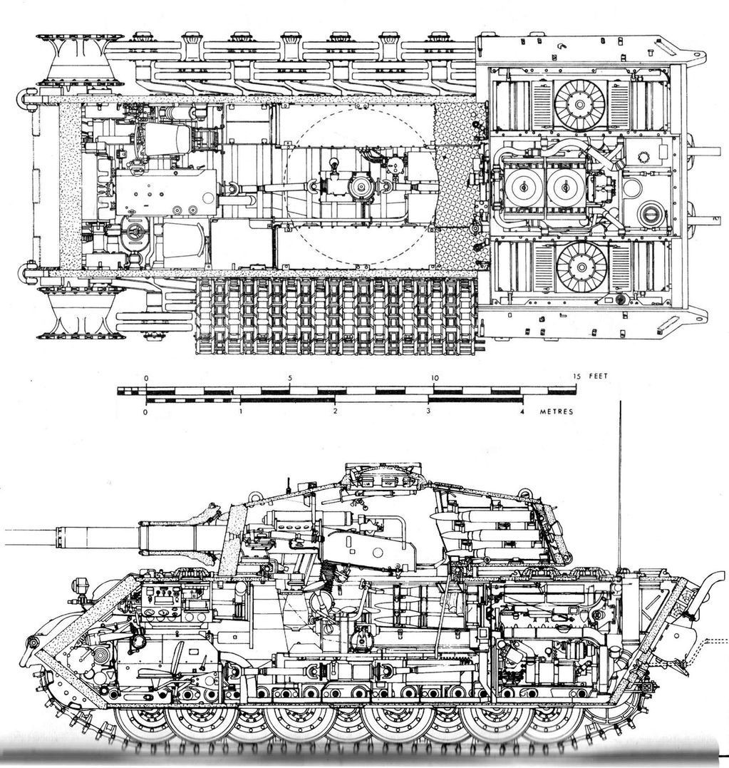 Cutaway Diagram Of Tank