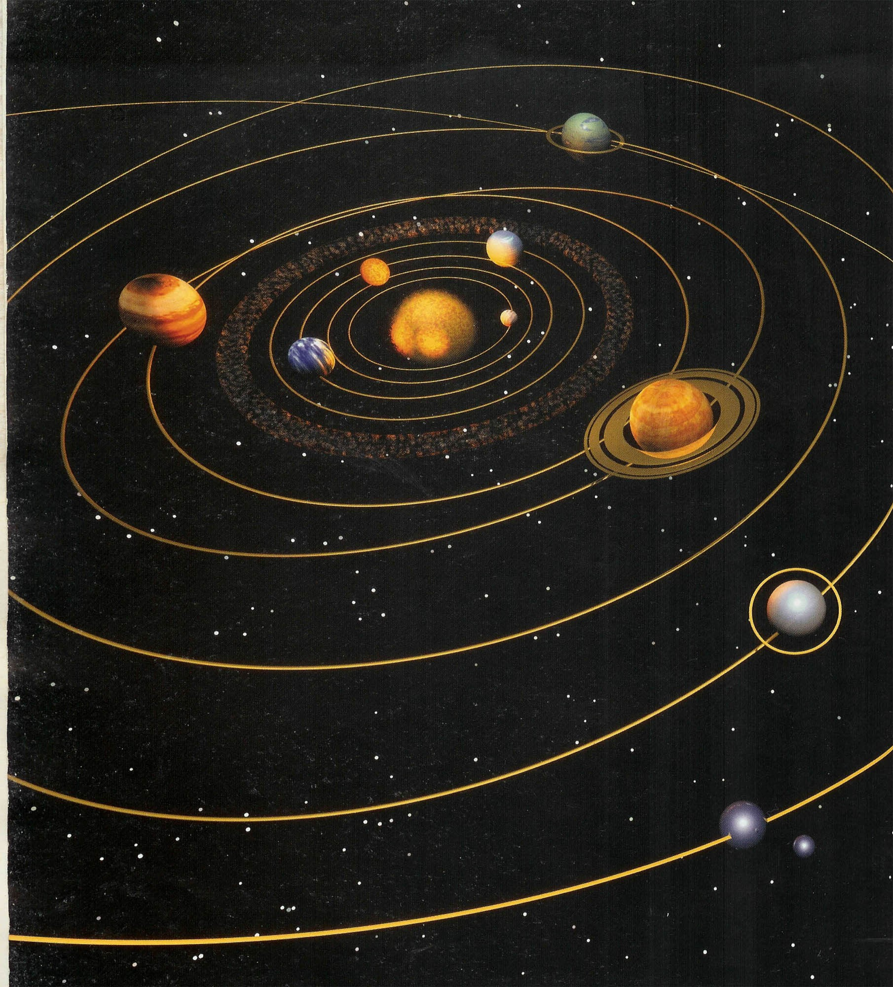 Solar System Gross View