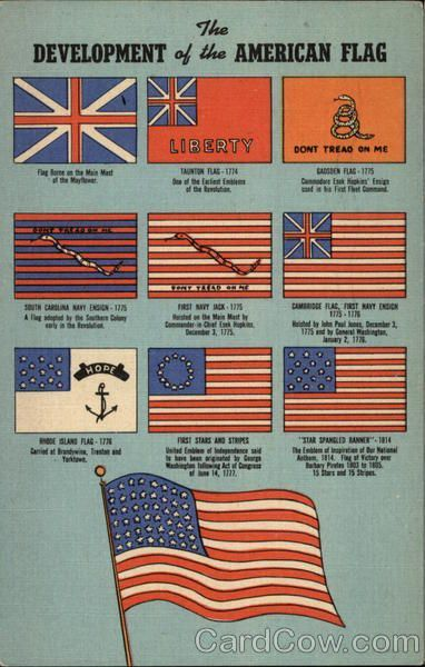 The Development Of The American Flag Diagram