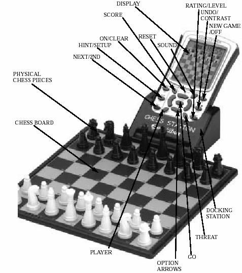 Chess Structure Diagram