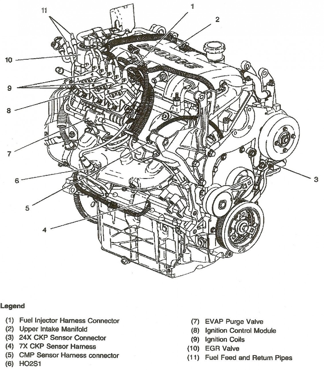 5 5 5 Liter Gm Engine Diagram