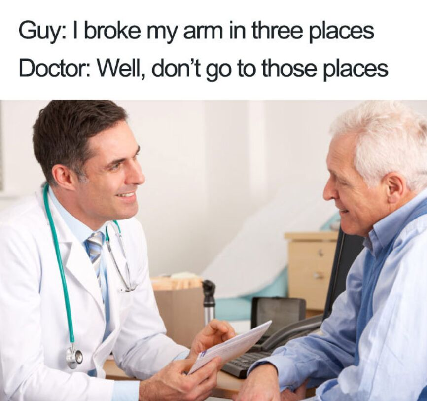 Dont Go To These Places That Broke Your Bones