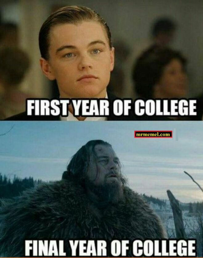 First Year And Final Year Of College Differences